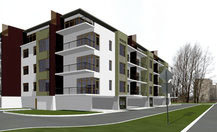 Multifamily apartment complex. 110 Turaidas Street, Lielupe, Jurmala