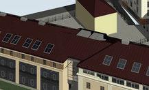 Office and housing complex. 1 Muitas Street, Riga